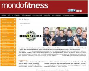 Fit&Boxe a Mondofitness 2012
