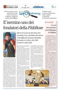 Fit&Boxe articolo Gazzetta del Molise